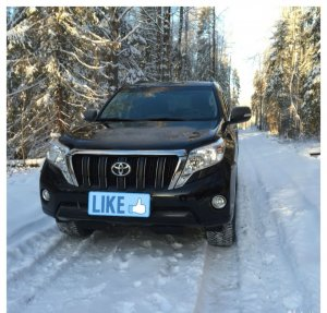 Toyota Land Cruiser Prado 2015 Вологда