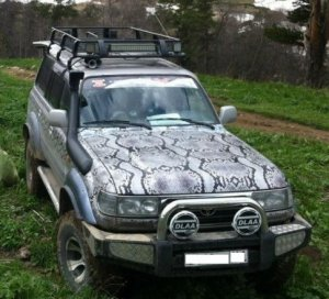 Toyota Land Cruiser 1996 Ростов-на-Дону