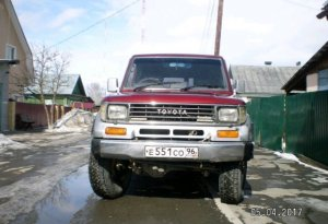 Toyota Land Cruiser Prado 1993 Екатеринбург