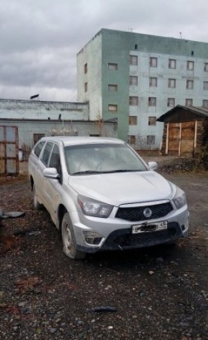 SsangYong Actyon Sports 2012 Синегорье
